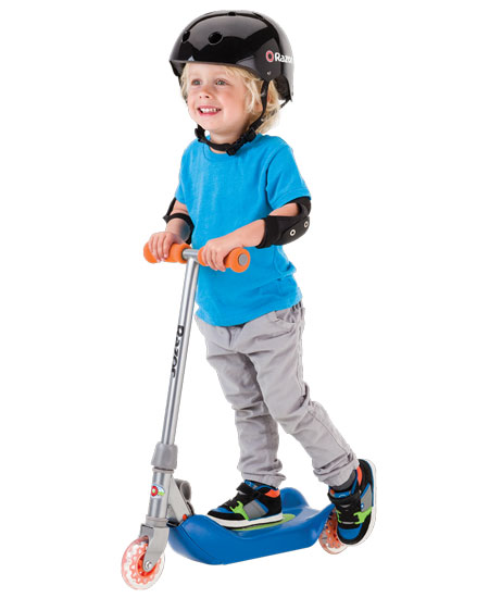 Razor Jr Folding Kiddie Kick Scooter For Boys Amp Girls Ages 3