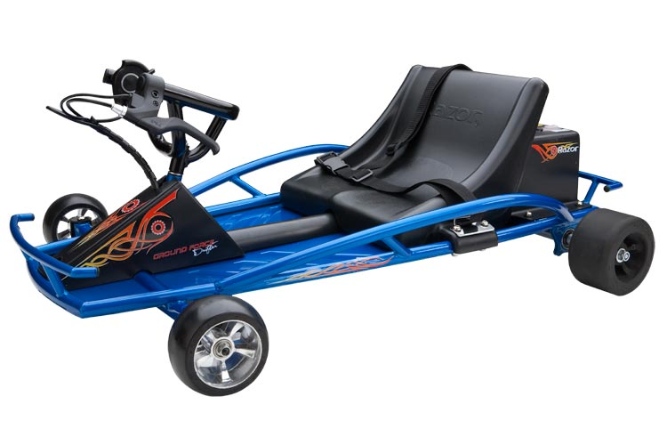 razor ground force drifter electric ride ons go kart style ride ons