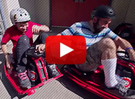Watch Dad Rip it Up on a Razor Ride