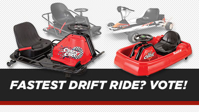 Which Razor Ride-On is the Fastest Drift Ride?