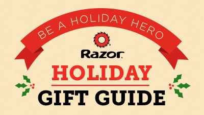 Check out the Razor Holiday Gift Guide