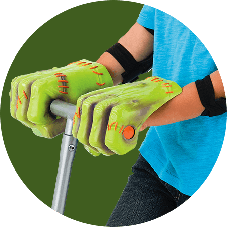 Razor Jr. Monster Kix Character Hands Feature