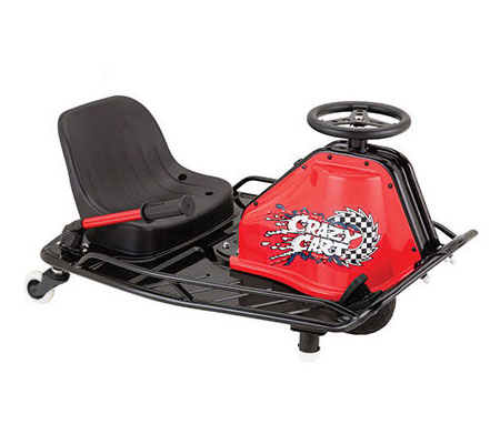Razor Crazy Cart Drift And Drive Go Kart Style Electric