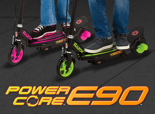 Power Core™ E90™ — More Ride, More Muscle