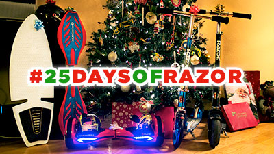 Enter the Razor #25DaysofRazor Instagram Contest