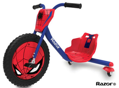 Razor Spider-Man RipRider® 360 — Ride-On