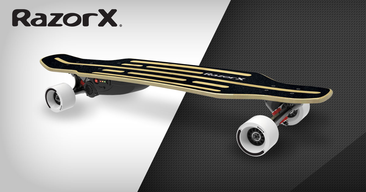 Razorx 174 Longboard Electric Skateboard